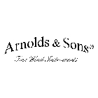 ARNOLDS & SONS
