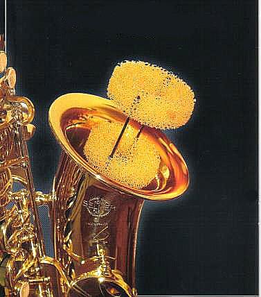 SAXMUTE Saxophon-Dämpfer für Alt-Saxophon